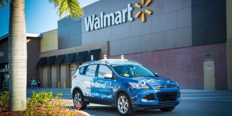 Walmart agrees to work with Ford on self-driving grocery supply pilot