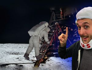 Moon landing conspiracy DEBUNKED (once again) video
