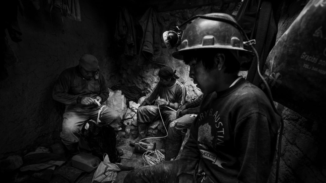 IMAGES: Dust And Risk For Grownups– And Kids– In Bolivia's Mines