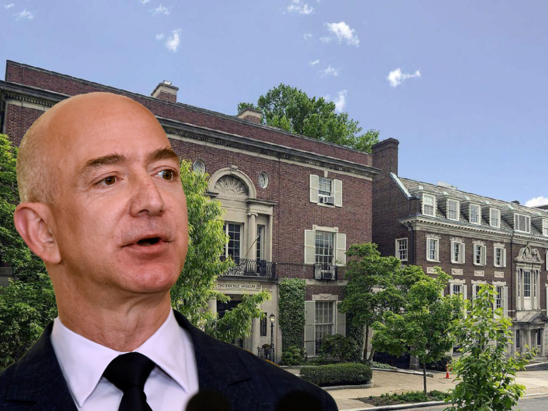 Amazon is constructing a 2nd head office in Arlington, Virginia– here's a take a look at CEO Jeff Bezos' neighboring estate, which is going through $12 million in remodellings