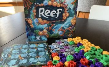 Abstract parlor game are all the rage– and Reef is the year's finest