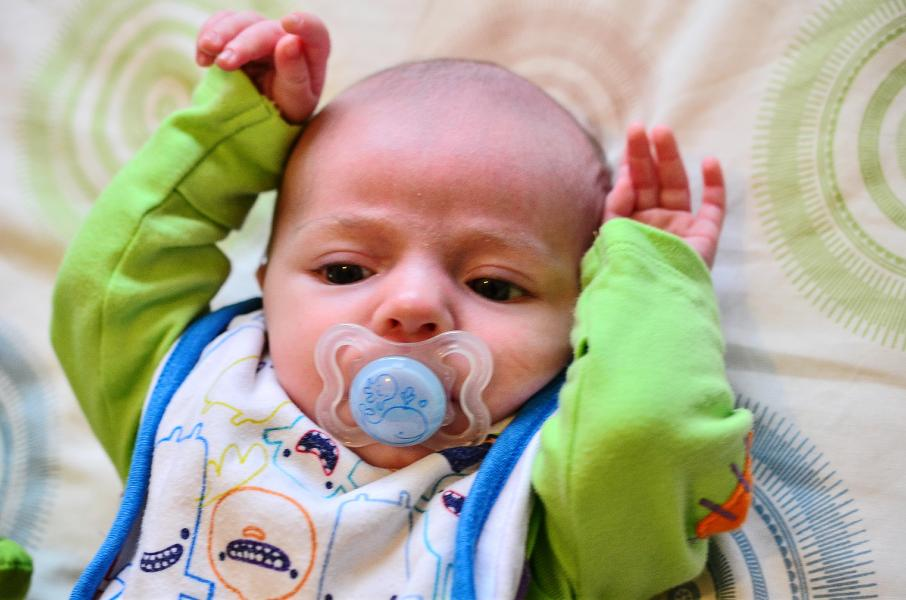 What May Happen To Allergies If You Draw On Your Baby's Pacifier
