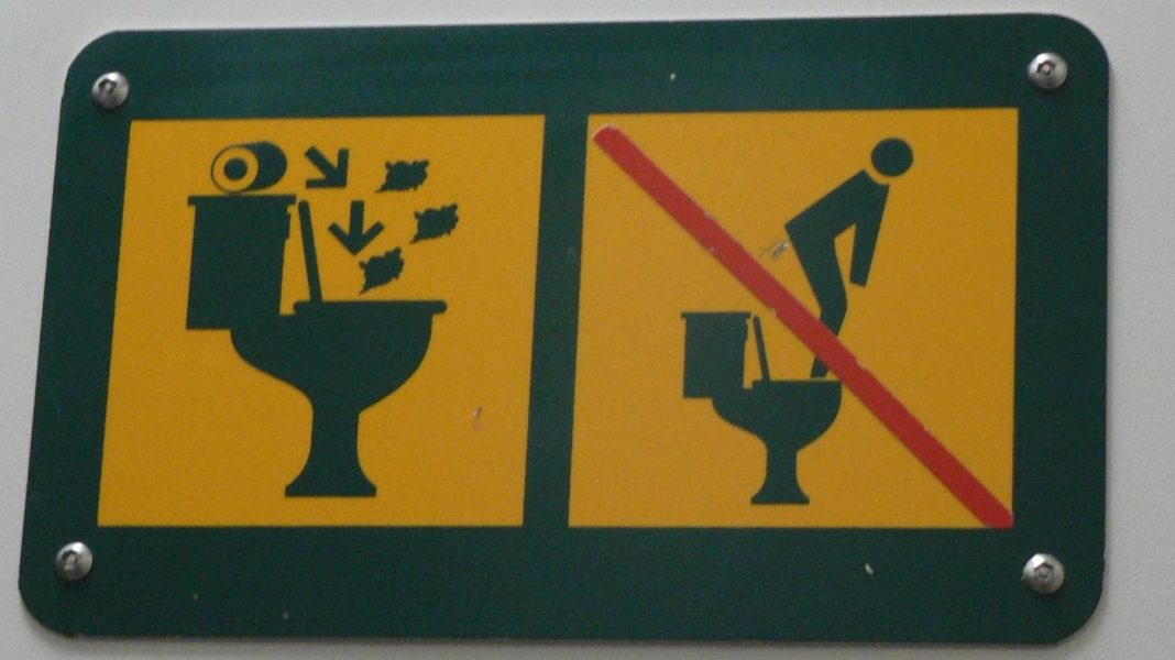Oh, The Places You'll Go: Toilet Indications Attempt To Assist