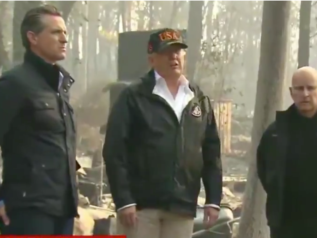 Finland's president does not understand what Trump was discussing with 'raking' talk about California fires