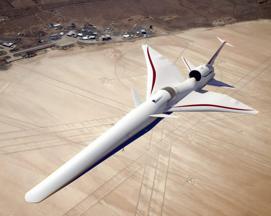 NASA To Fly Super-Quiet Supersonic Jets Over U.S. Cities 'Within 3 Years'
