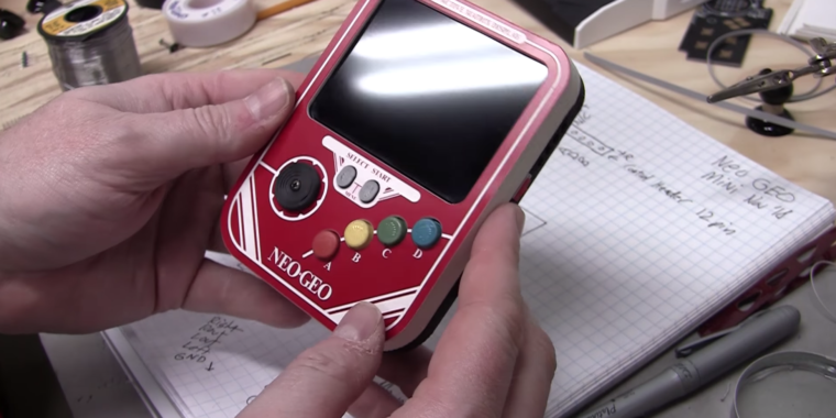Hacker Ben Heck is back to repair the problematic Neo-Geo Mini