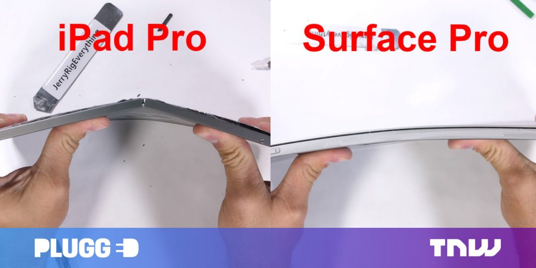 Does the brand-new iPad Pro have a 'bendgate' issue?