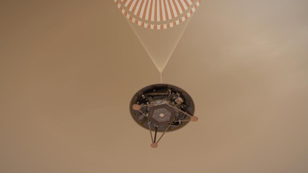 Enjoy NASA's InSight Probe Arrive on Mars Here