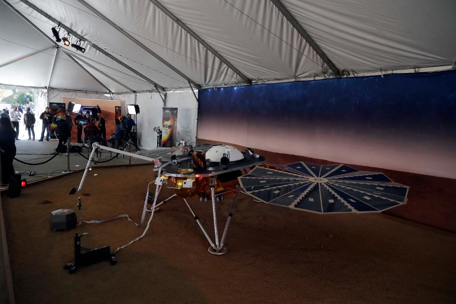 NASA's Insight Lander Touches Down To Broaden Expedition Of Mars