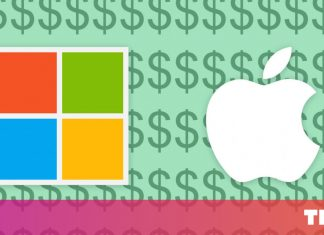 Microsoft quickly fell Apple as the most important business on the planet