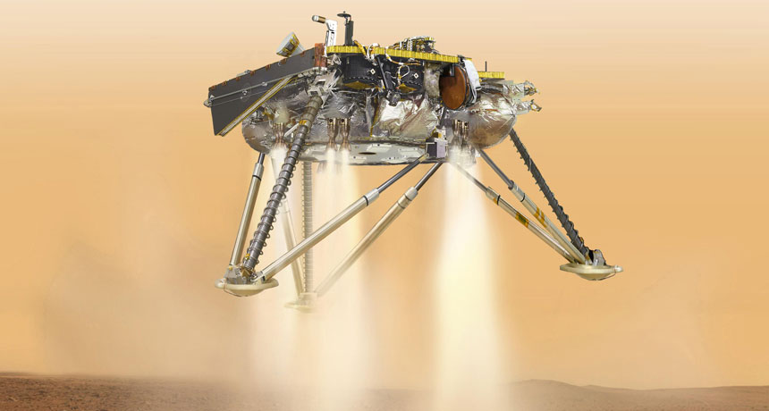 NASA's InSight lander has actually touched down securely on Mars