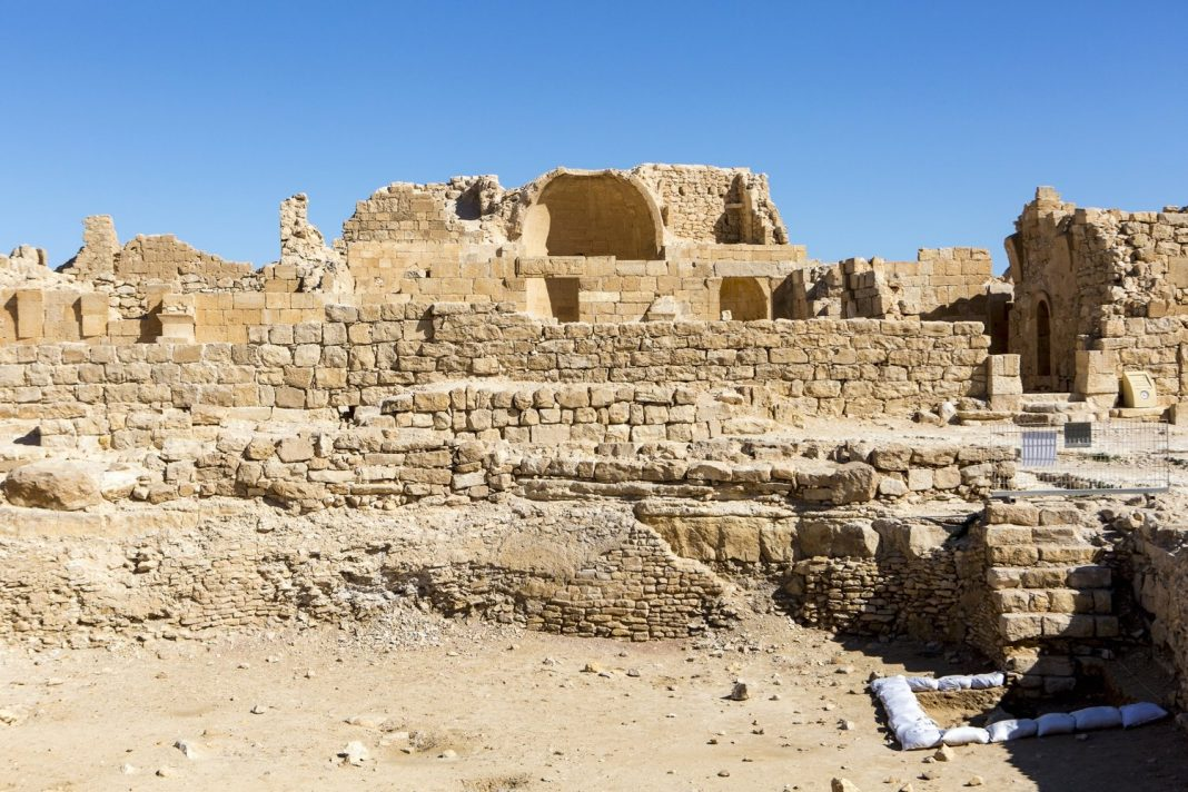 Images: The Ancient Ruins of Shivta in Southern Israel