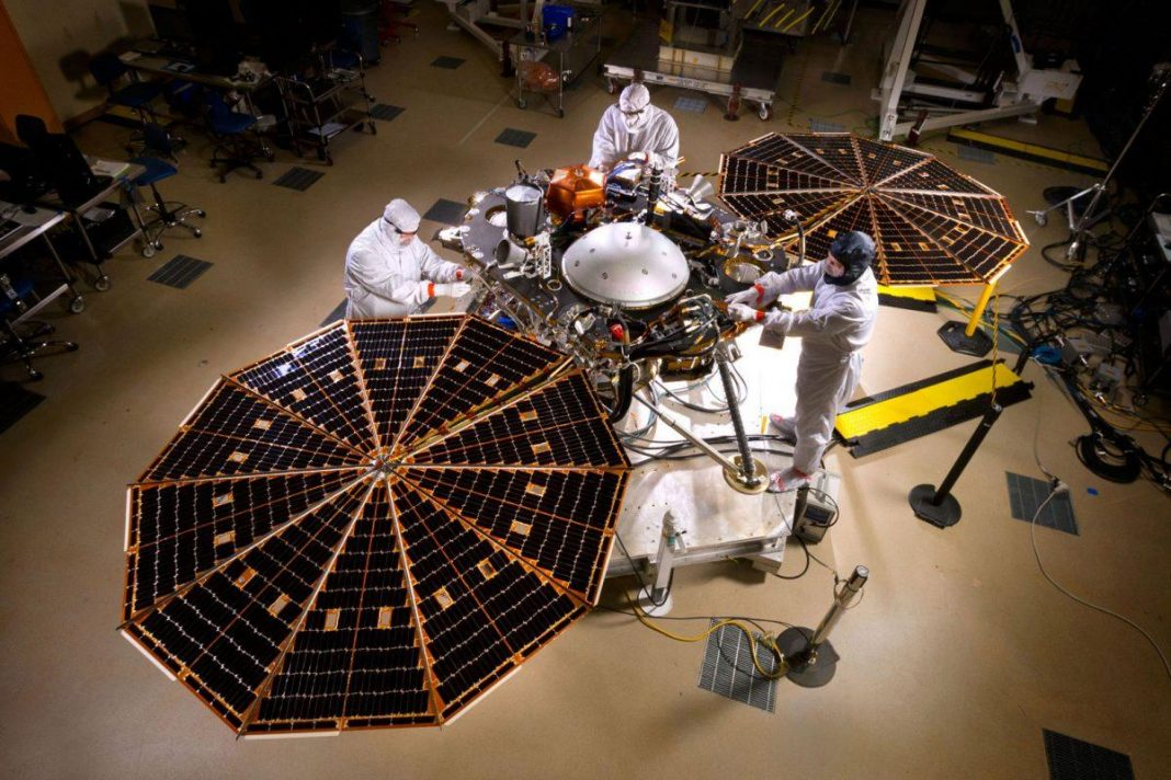 NASA's InSight Robotic Is Listening For Marsquakes. Here's Why That Rocks