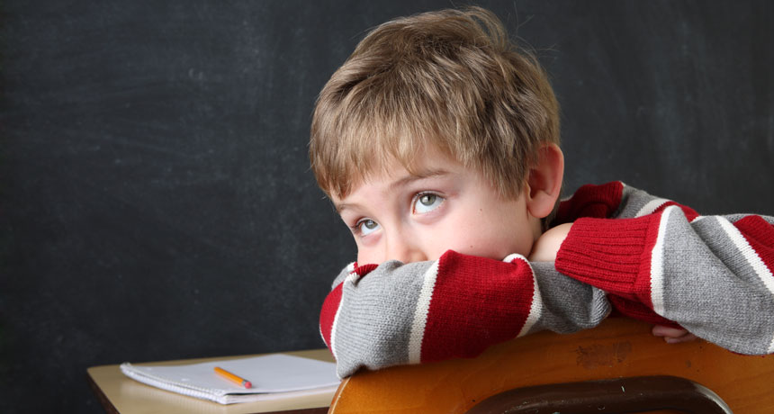 Kids born in August are identified with ADHD more than kids born in September