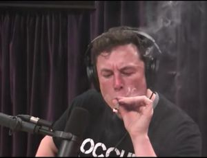 Elon Musk's public pot smoking cigarettes days are over, NASA chief states