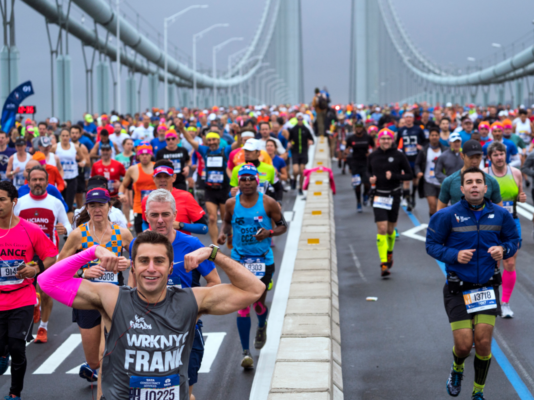 A running coach describes how to make it through the New York City marathon this weekend