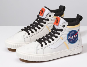 NASA-themed Vans shoe collection honors historical area objectives