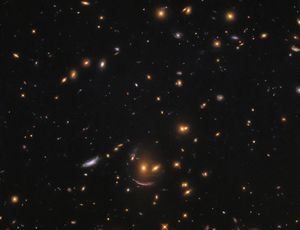NASA Hubble telescope captures smiling face in house