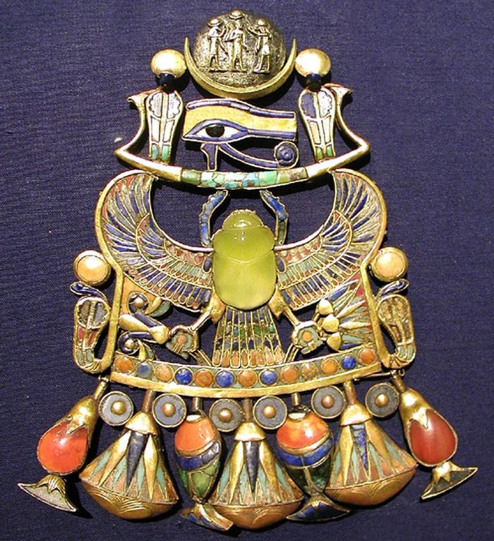 Gems Found In King Tut's Burial place Formed When A Heavenly Body Hit Earth