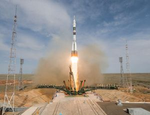 See the second that Russian rocket failed with NASA astronaut aboard