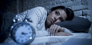 An absence of sleep can cause stress and anxiety