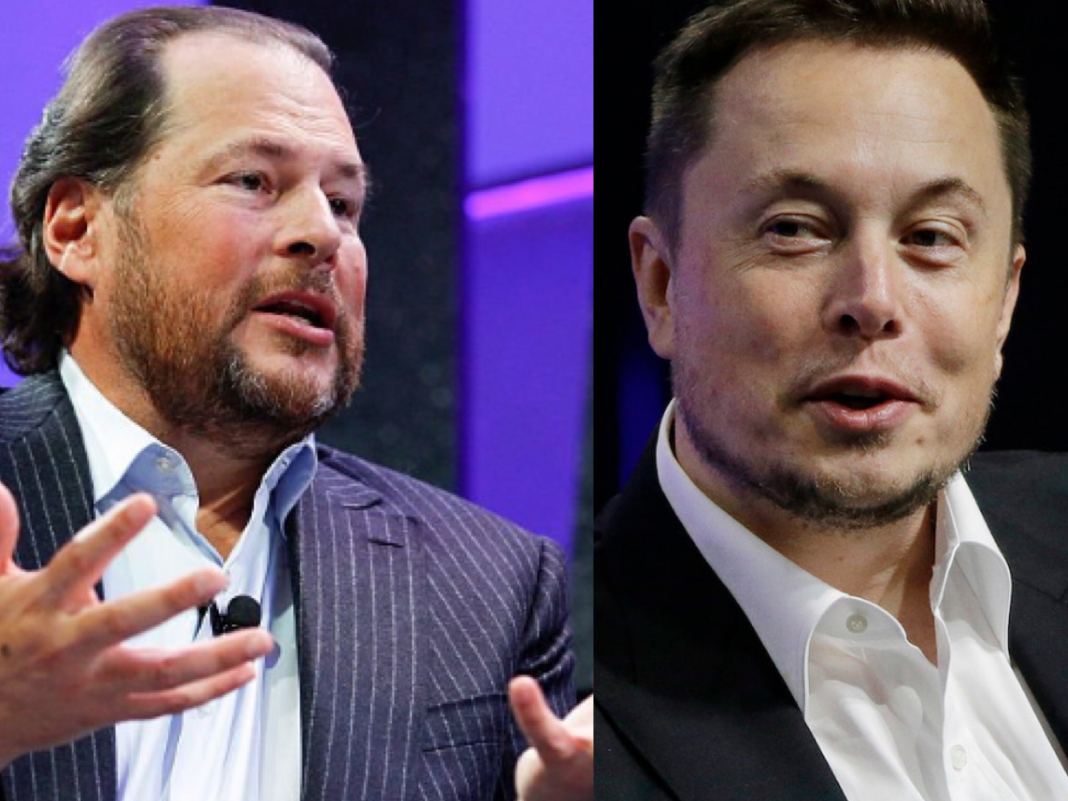 Marc Benioff welcomed Elon Musk to come dig tunnels in San Francisco for a brand-new transport system and the Tesla creator accepted: 'Sure, we can do it' (CRM)