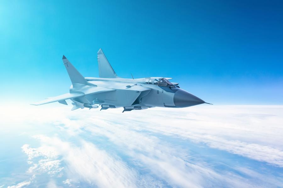 How Do Military Pilots Objective Guided Defense Through Clouds?