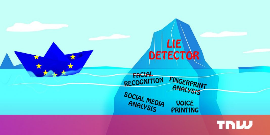 The EU's border control 'lie detector' AI is hogwash