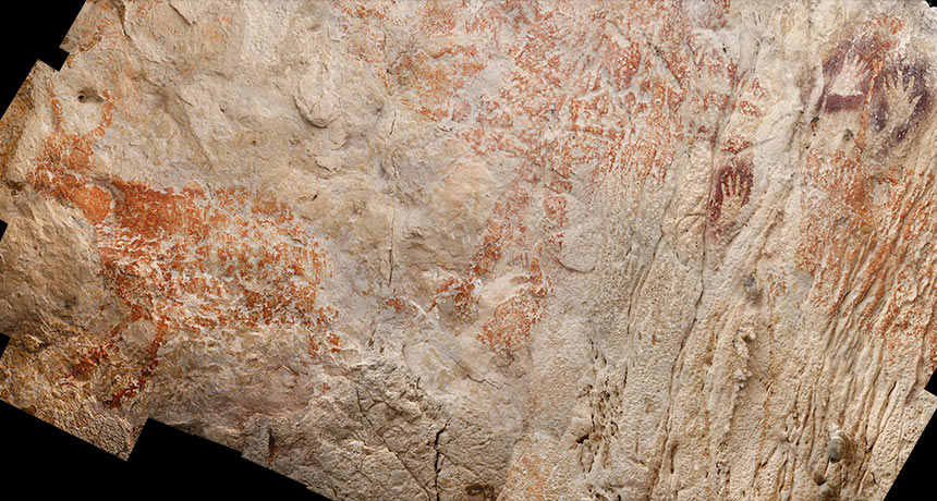 Like Europe, Borneo hosted Stone Age cavern artists