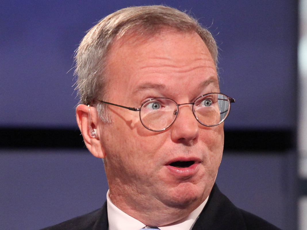 Eric Schmidt answers for Google's social networking failures: 'I believe we didn't totally comprehend how to do it' (GOOG, GOOGL)