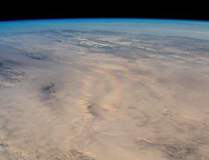 ISS astronaut areas uncommon, wonderful phenomenon above Earth