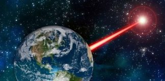 We Might Develop a Powerful Laser and Let Any Civilizations Within 20,000 Light-Years Know We're Here. Although … Should We?
