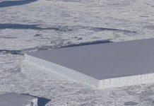 NASA discovered where that strange rectangle-shaped iceberg originated from