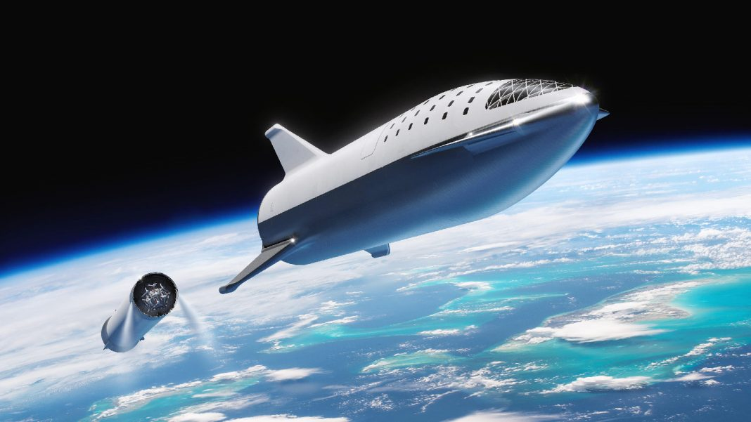SpaceX is going to construct a mini-BFR to introduce on a Falcon 9