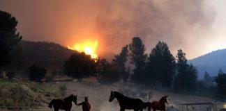 Westworld's Main Street shooting set at Paramount Cattle ranch burns down