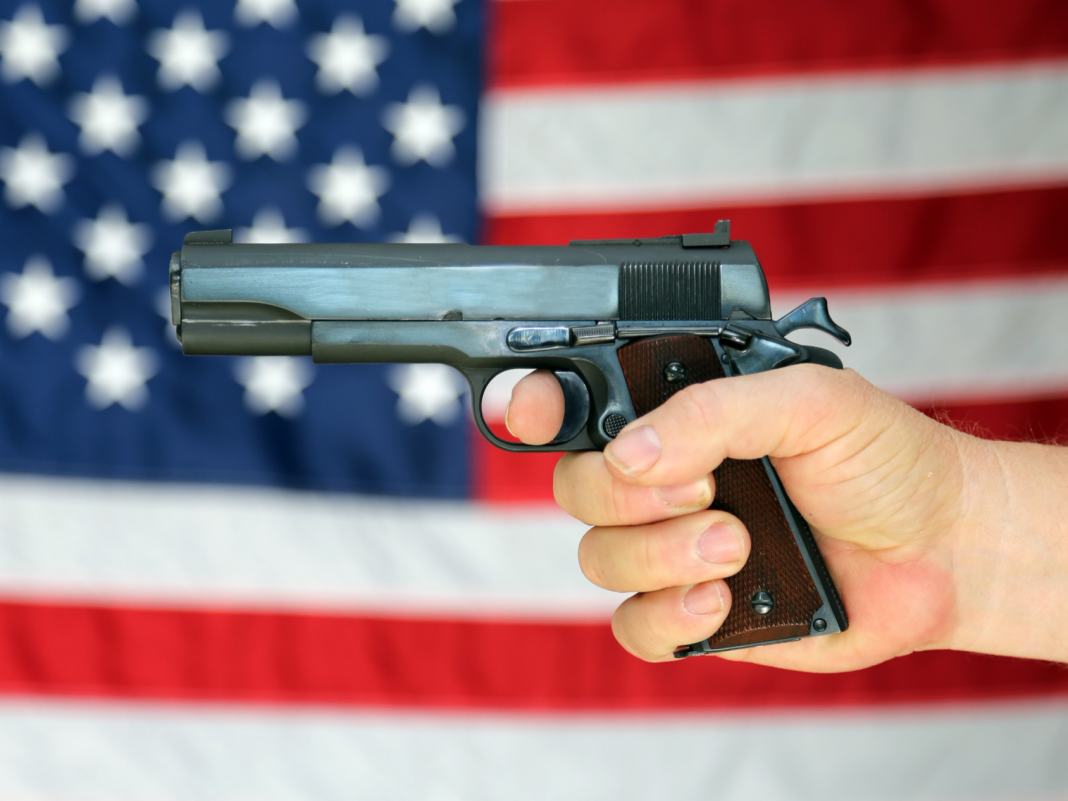 How most likely is weapon violence to eliminate the typical American? The chances might amaze you