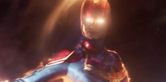 Neither bird nor airplane: Captain Marvel blasts into area in brand-new trailer