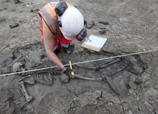 500- Year-Old Body of Male Using Thigh-High Boots Found in London Drain Building And Construction
