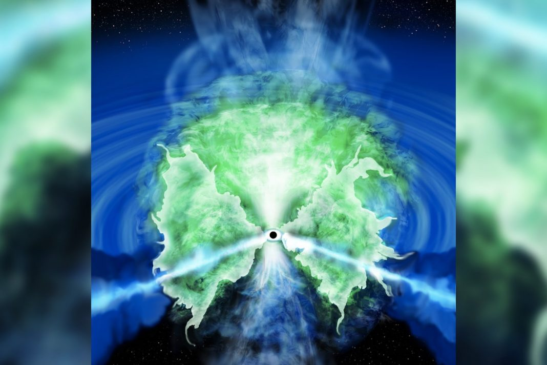 Astronomers Believe They have actually Determined the Raging Swirls of Gas Around Supermassive Great Voids