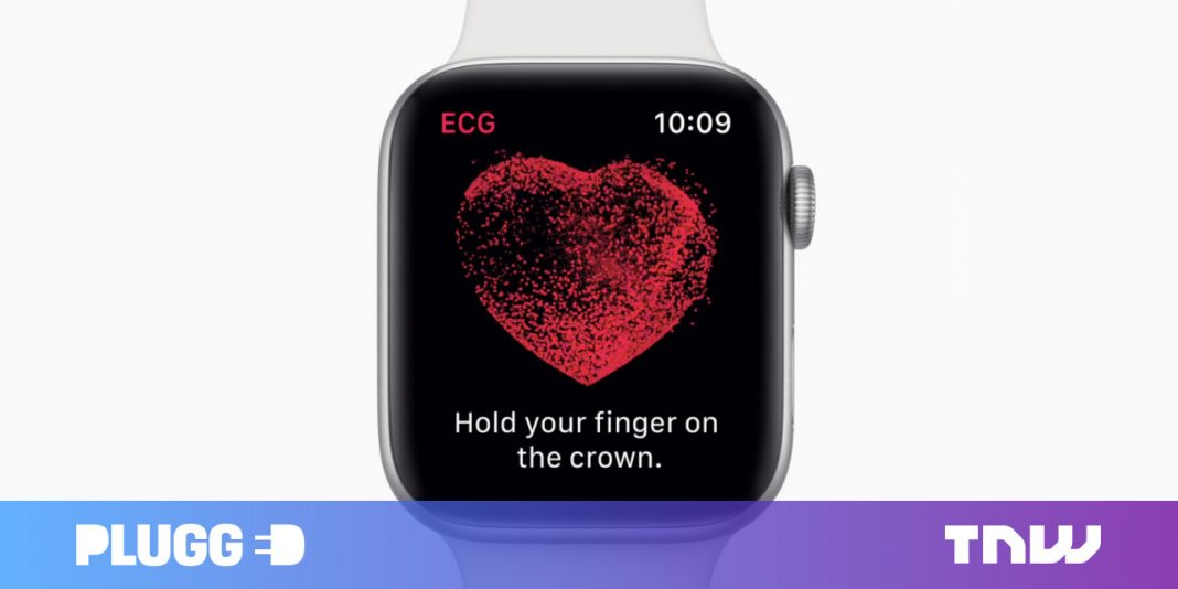 The Apple Watch's brand-new ECG function is currently conserving lives
