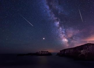 How To Enjoy A Moon Landing, Discover A 'Christmas Comet' And See Shooting Stars This Month