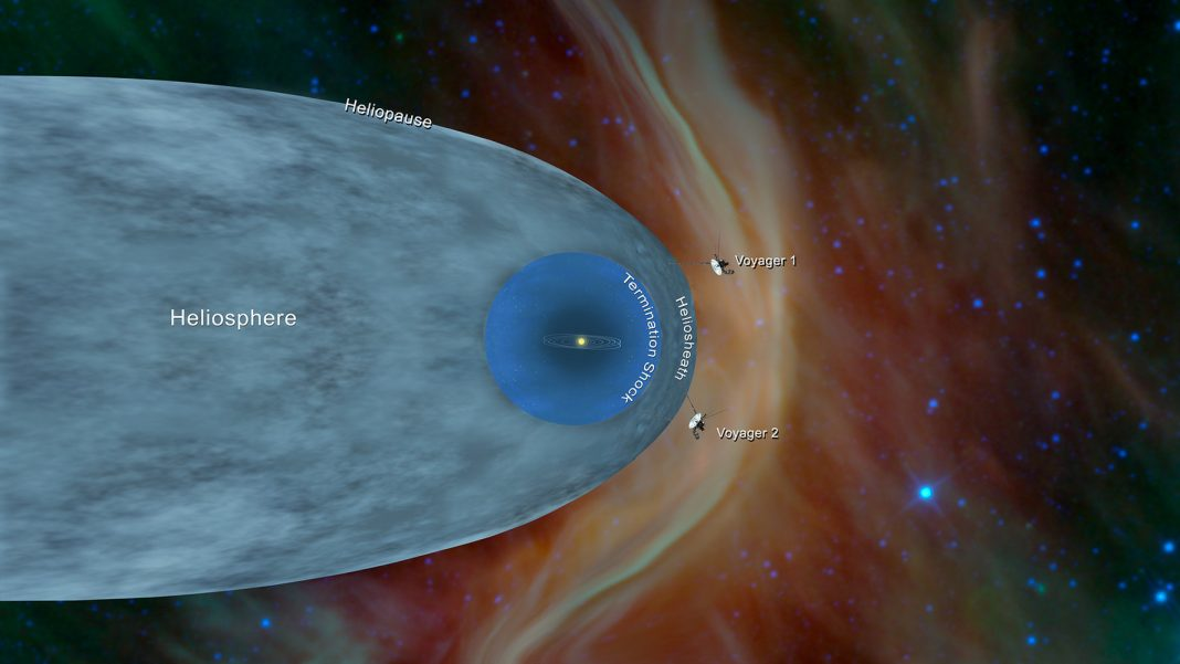 It's Authorities! NASA's Famed Voyager 2 Spacecraft Reaches Interstellar Area