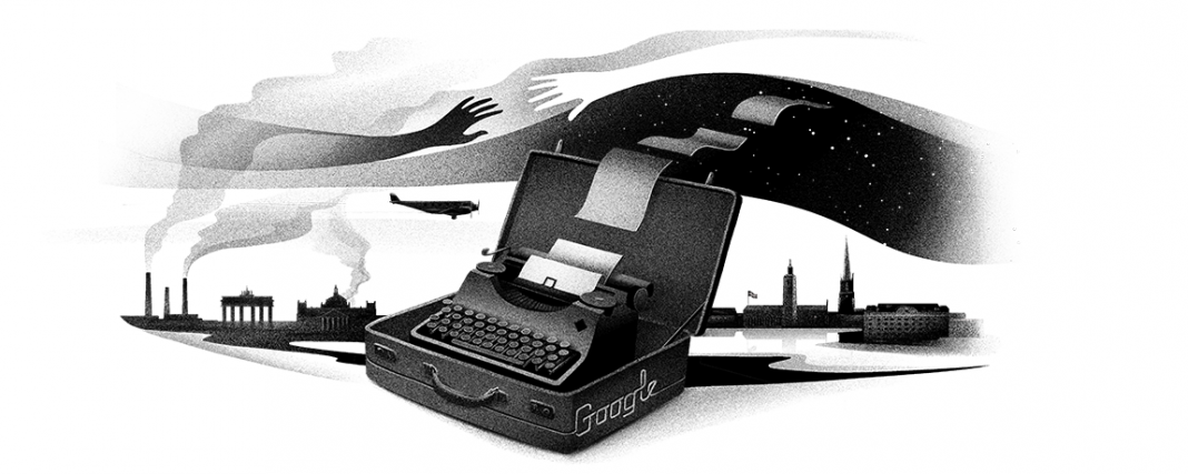 Monday's Google Doodle Formality Poet Nelly Sachs
