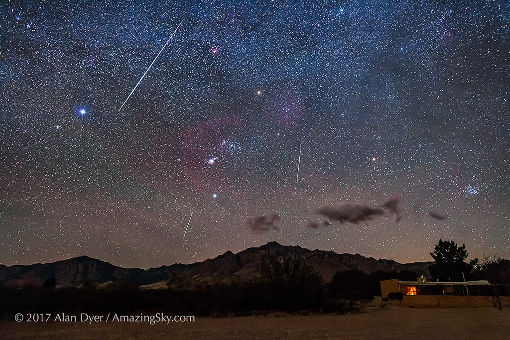 Prepare yourself for the 2018 Geminid Meteors