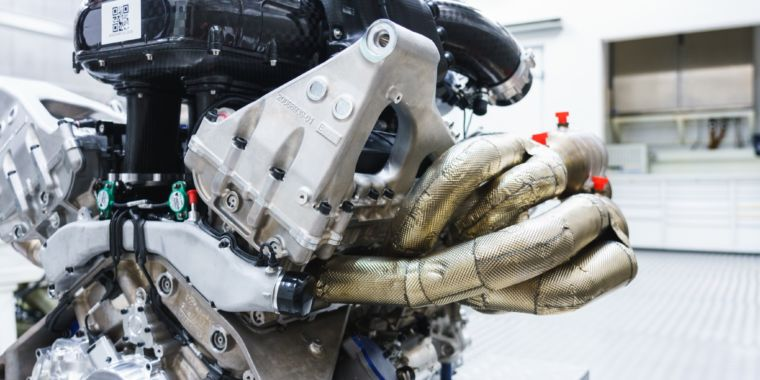 12 cylinders, 11,000 rpm: Aston Martin's brand-new engine is a beast