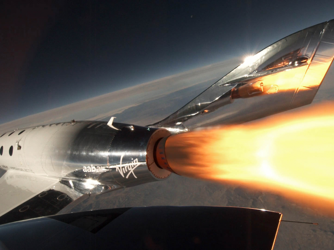 Virgin Galactic released a test craft 50 miles into the sky, and got its very first taste of area