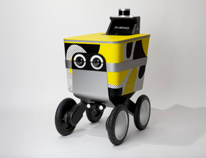 A robotic may provide your Postmates orders in the future