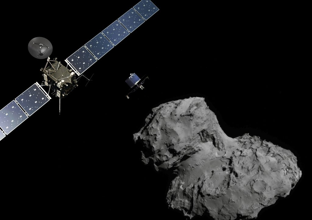 Rosetta Flew Through the Bow Shock of Comet 67 P A Number Of Times Throughout its Objective