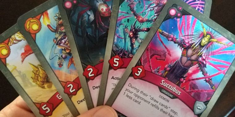 KeyForge: The red-hot card video game where every deck is special– and unchangeable