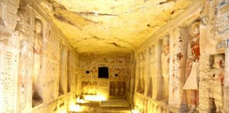 Images: Exceptionally Maintained Ancient Burial Place Discovered at Saqqara
